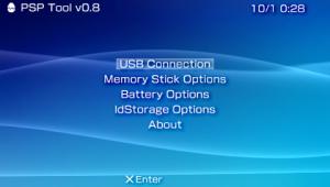 PSP Tool v0.8